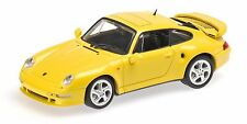 Porsche 911 Turbo S 993 Jubilaumsmodell 1998 Light Yellow MINICHAMPS 430069270