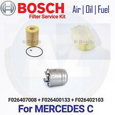 A2 PARA MERCEDES CLASE C Aire De Filtro combustible diesel kit de mantenimiento