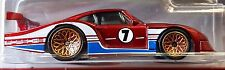 Hot Wheels 2016 Car Culture '78 Porsche 935 Red Track Day Real Riders Racing