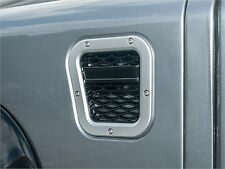 LAND ROVER DEFENDER XS AIR INTAKE GRILLE SILVER WITH BLACK  MESH LH PART- DA1973