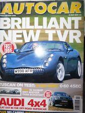 AUTOCAR 00/05/10 TVR TUSCON PORSCHE BOXTER S NISSAN PATROL MERCEDES S500