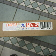 12 TOTAL FACET F 16x20x2 AIR FILTERS! PLEASE READ!! R160