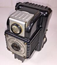 Un RARO, Regno Unito-made Coronet popolare 12 Scatola Fotocamera Per 120 Pellicole, da 1950s