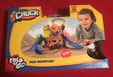 Hasbro Tonka Chuck & Friends Fold 'n Go Mud Mountain with Biggs -  NIB