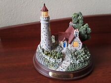 Thomas Kinkade A Light Of Peace Seaside Lighthouse Collectors Figurine Works