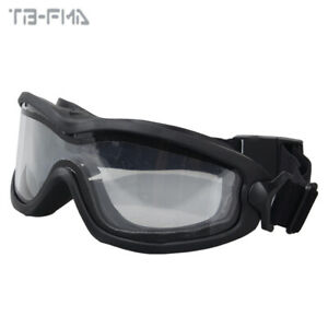 FMA JT Spectra Brille mit Single/Double Layer Anti-Fog Dust Airsoft Brille Gear