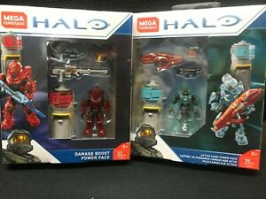 Mega Construx Halo DAMAGE BOOST&Active Camo Weapons Power Pack (FPJ24&FPJ25)
