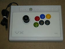 MICROSOFT XBOX 360 HORI VX FIGHTING Stick USB Joystick Joy FIGHT arcade-Blanc