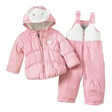 Baby Girl ZeroXposur Heavyweight Kitty Jacket & Snowpants Set - 24 Months NWT