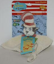 The Lorax Dr. Seuss Cat in the Hat Lovie Love Blankie Blanket NWT