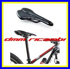 Sella bici Velo Vl1220 Rail Carbonio Strada MTB BDC Sellino Nero/bianco Gr.165