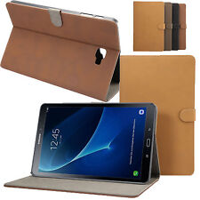 Retro Matte Leather Smart Case Cover For Samsung Galaxy TAB A 10.1 T580 T585