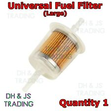Petrol Inline Fuel Filter Universal fit - LARGE Car Part Fit 6mm & 8mm Pipe