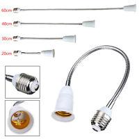 E27 LED Light Bulb Lamp Holder Flexible Extension Adapter Converter Screw