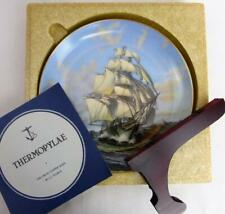 "Great Clipper Ships Thermopylae Plate Franklin Porcelain 9"" Orig Box Pearce fr"