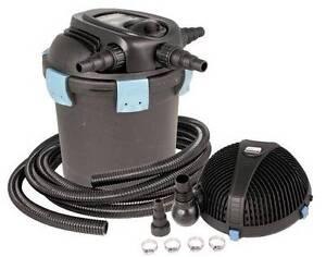 Aquascape UltraKlean 2500 Filtration Kit-pond pressure filter w/UV-pump-tubing