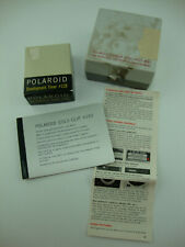 Vintage polaroid camera accessories - Timer #128, Cold clip #139, Close-up Attac