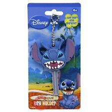 Disney Lilo and Stitch Key Cap PVC Key Holder Stitch  Face Key Chain