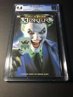 Joker Year of the Villain #1 Mike Mayhew Trade Dress CGC 9.8 NM/MT 🔥🔥