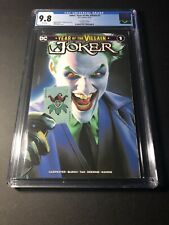 Joker Year of the Villain #1 Mike Mayhew Trade Dress CGC 9.8 NM/MT 🔥🔥