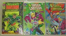 Green Lantern #50 52 53 Lot 3 Comics 1st Appearance Parallax Emerald Twilight DC
