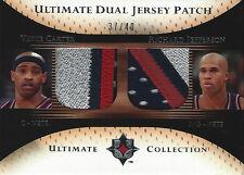 2005-06 Vince Carter Richard Jefferson ULTIMATE DUAL JERSEY PATCH #37/40 NJ Nets