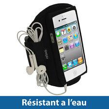 Noir Armband Brassard Sport pour Nouveau Apple iPhone 5 5S 5C SE Gym Jogging
