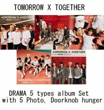 TXT TOMORROW X TOGETHER Japan 2nd Single [DRAMA] 5 album + Photo + Goods Set