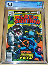 Black Panther #5 CGC 9.2 (Jack Kirby Story, Art & Cover) (WHITE PAGES) CLASSIC!!