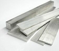 6061 Aluminum Square Rod Thickness 12mm - 15mm L:100-600mm-Select [M1]