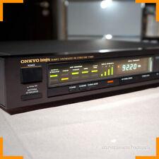 ONKYO INTEGRA T - 4450 FM/AM STEREO TUNER RADIO NERO, VINTAGE OTTIMO STATO!