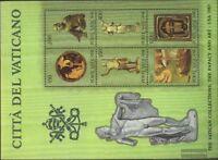 Vatikanstaat Block7 (kompl.Ausg.) postfrisch 1983 Vatikanische Kunstwerke