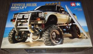 Tamiya Toyota Hilux High-Lift 4x4 Pickup NEW 58397
