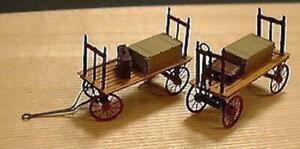 1007 Micron Art Brass Kit Z-Scale 1:220 Baggage cars 4 each