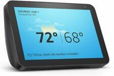"AMAZON ECHO SHOW 8 HD 8"" Smart Display with Alexa Charcoal BRAND NEW SEALED"