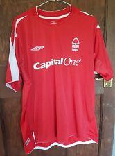 NOTTINGHAM Forest Home Camicia 2004-06, LINEA UOMO taglia XL, condizioni eccellenti