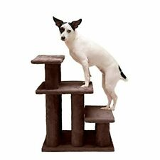 Furhaven Pet - Steady Paws Furniture Assist Multi-Step Dog Stairs for High Beds