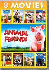 ANIMAL FRIENDS  8 FILMS BABE EVAN ALMIGHTY FLIPPER BEETHOVEN+ ROBERT DE NIRO R1