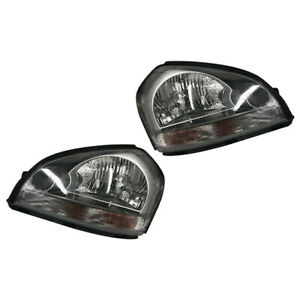 2x Front Left Right Headlight Headlamp Assembly Fit for Hyundai Tucson 2005-2009