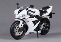 Motorcycles Racing Gift Toy white Diecast 1:12 Maisto Yamaha YZF-R1 Model T02