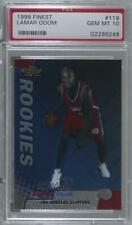 1999-00 Topps Finest Lamar Odom #119 PSA 10 Rookie