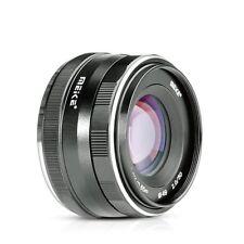 Meike 50mm f2.0 Large Aperture Manual Focus Lens for Mirrorless Cameras Olympus
