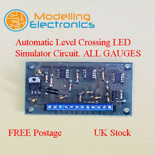 LCS LED Automatic Level Crossing LED Simulator Circuit. ALL GAUGES, N, OO, HO