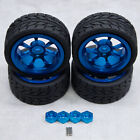 4pc Tires / Wheels w Hex Adapters for WLToys A959 A969 A979 K929 A959B A979B