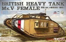 Meng model TS-029 1:35th scale british heavy tank mk v femelle
