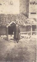 Pope Grecia Macedonia Balcanes Vintage Analógica Aprox 1915 Pequeño Formato