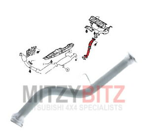 2006- Exhaust Pipe Cushion For Mitsubishi Pajero Iv V97W