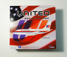 1/200 United Airlines 737-291 N988UA Serial No. 060 of 288 InFlight200 IF7320711