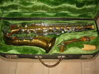 "Beautiful old  Alto saxophone ""Lignatone Classic Amati Craslice"""