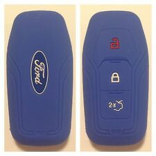 FORD BLUE CAR SMART KEY REMOTE COVER CASE MUSTANG MONDEO MKV FUSION F150 2015